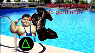 O dia em que eu mandei um gordinho na piscina direto pro INFERNO