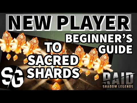 [RAID SHADOW LEGENDS] FREE SACRED SHARDS - BEGINNER GUIDE - FOR NEW PLAYERS ONLY