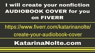 Audiobook Cover Fiverr Gig - I will create your nonfiction audiobook cover for you on Fiverr