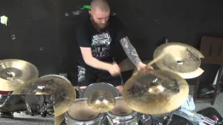 Miss May I-Monument Drum Cover