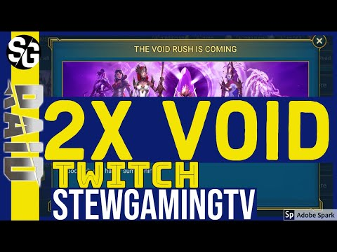 RAID SHADOW LEGENDS | 2x VOID SUMMONS! JOIN ME TOMORROW ON TWITCH!