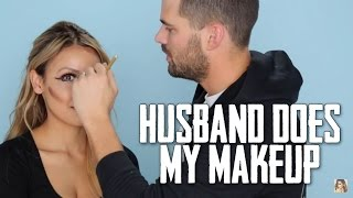 Husband Does My Makeup width=