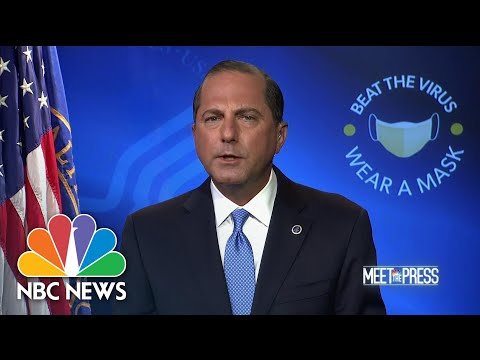 Full HHS Sec. Azar: 'We've Seen Incredible Progress' In Fighting Covid | Meet The Press | NBC News