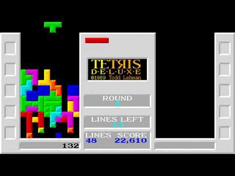 Tetris Deluxe (Fibblesnork Software) (MS-DOS) [1993]