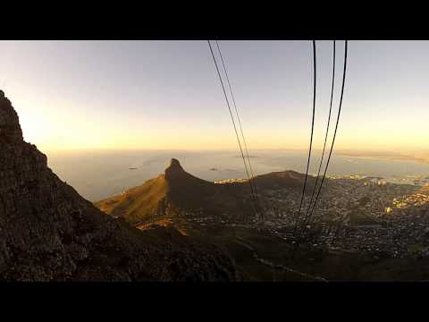 Table Mountain Sunset trip 2012