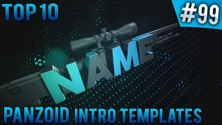 TOP 10 Panzoid intro templates #99 (Free download)