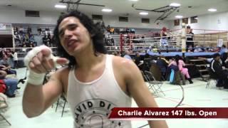 Charlie Alvarez Cristo es su esquina en la vida y el boxeo