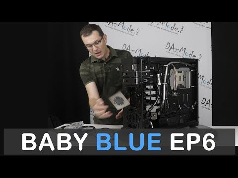 Complete Watercooling Layout Design Video -  Baby Blue Ep6