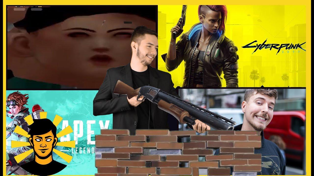 Sunn - Mr. Beast NAGY TERVE, VALORANT beégés, Cyberpunk 2077 megint késik és az Apex Season 7 | Sunn híradó