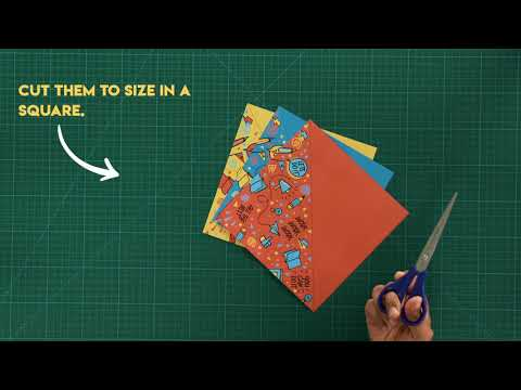 #CraftABond - Origami Utility Box