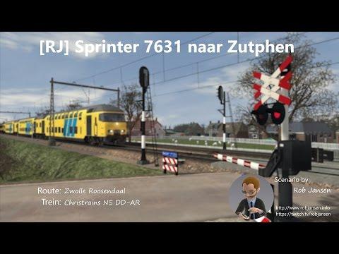 Scenario: [RJ] Sprinter 7631 naar Zutphen