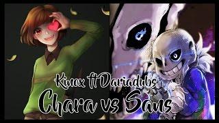 Sans vs Chara. Batallas de Rap (Undertale)   Kinox ft Daria