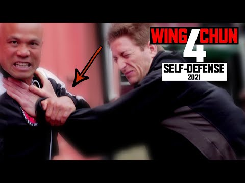 Wing Chun Defending the throat grab | Basic and Simple Lesson 1