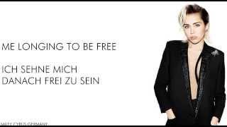 Miley Cyrus - Hands of Love - Lyrics + German Translation/Deutsche Übersetzung