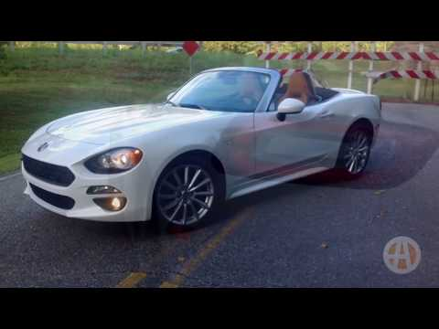 2017 FIAT 124 Spider: Behind the Wheel