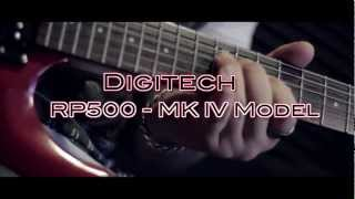 """In the MIx - Digitech RP500 - """"MK IV Model"""""""