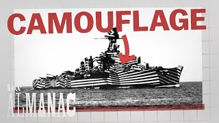 Why ships used this camouflage in World War I width=