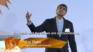 Keynote Speaker Raj Patel at IAWS 2018