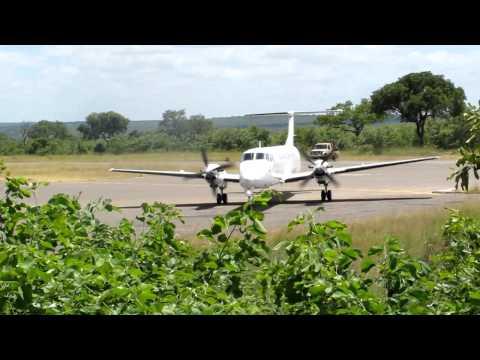 SA Jan 2012: Sabi Sands. Ulusaba. Airstrip.