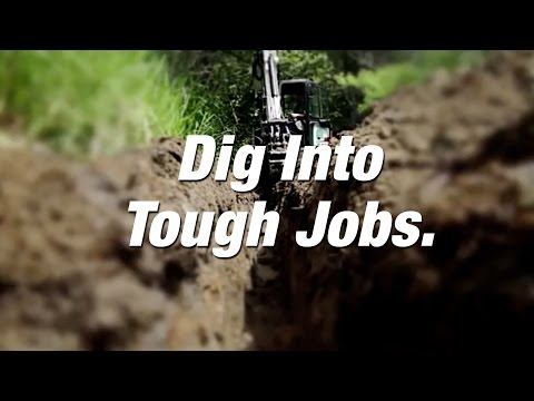 Bobcat Compact Excavators Thrive In The Trenches.