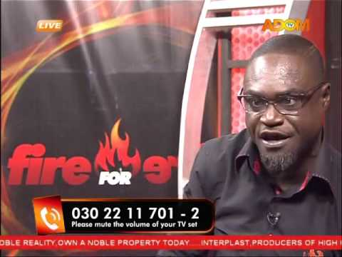 Commentary Position - Fire 4 fire on Adom TV (11-2-16)