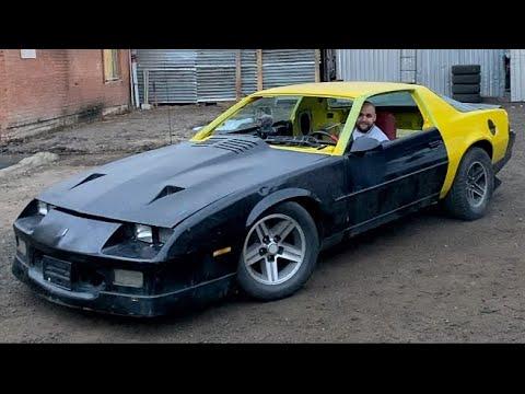 Chevrolet CAMARO. Первый запуск , первый ВЫЕЗД.