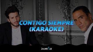 Contigo Siempre | Alejandro Fernández, Sebastián Yatra | Karaoke