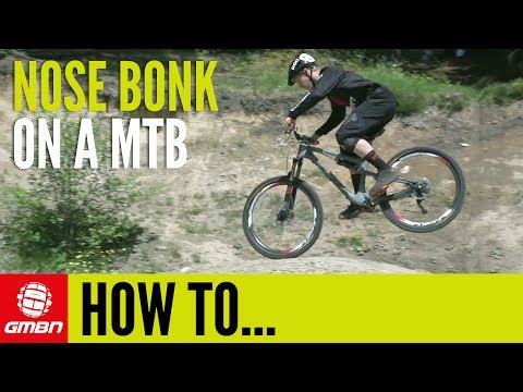 How To Nose Bonk On A MTB | Mountain Bike Skills