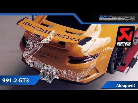 Porsche 991.2 GT3 Akrapovic