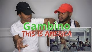 Childish Gambino - This Is America (Official Video) - REACTION width=