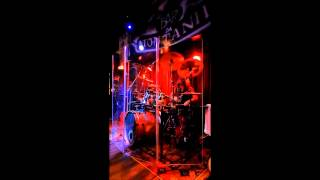 Slippery - Trick or Treat (Fastway cover) - Drum Cam