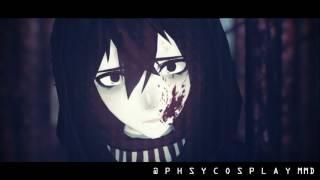 [MMD x Creepypasta]EPILEPSY WARNING- GASOLINE (Oscar's Remix) - Ticci Toby [60fps]