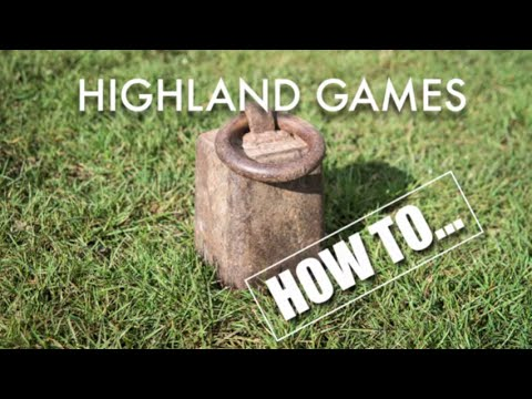 Highland Games - How to weight for height