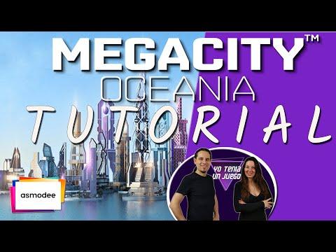 MEGACITY OCEANIA | Juego de Mesa | Cómo jugar - Tutorial