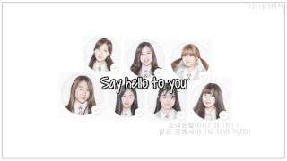 Produce 101 (Girls On Top) - In the same place + [English subs/Romanization/Hangul]