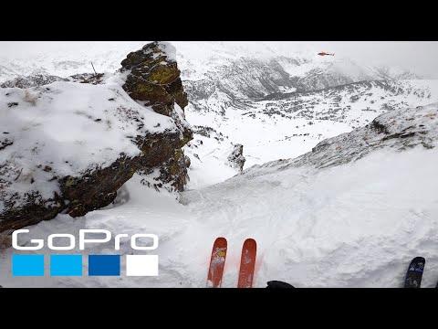 GoPro: Léo Slemett's Winning Run   FWT Andorra 2020 in 4K