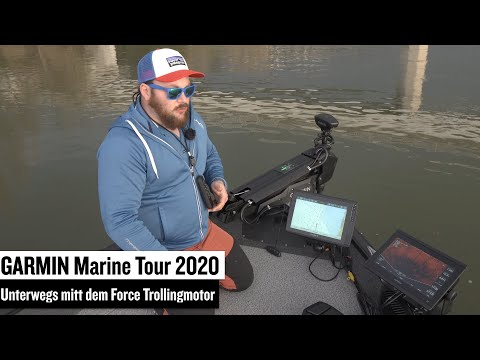 Garmin Marine Tour 2020: Unterwegs mit dem Force Trolling Motor