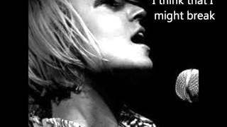 Breathe me -Sia lyrics on screen