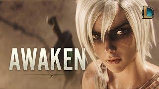 Awaken (ft. Valerie Broussard) | League of Legends Cinematic - Season 2019 width=