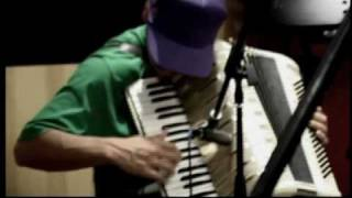 El Hijo de la Cumbia - creating Live Act - Rehearsal feb 2010 (2)