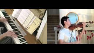 Disney - Aladdin - A Whole New World (violin, piano) - FT. Josh Chiu