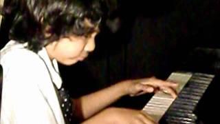 Joey Alexander at 7 years old - C Jam Blues.wmv
