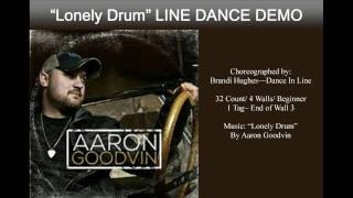 """Lonely Drum"" Line Dance Demo"