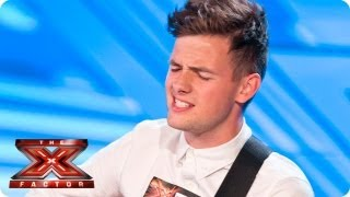 Tom Mann sings Let Her Go By Passenger - Room Auditions Week 1 -- The X Factor 2013