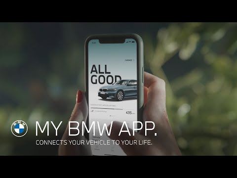 My BMW App. Connects your vehicle to your life.