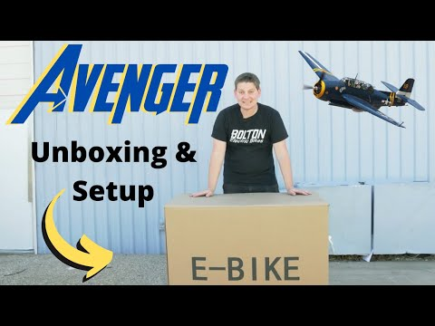 The Avenger Electric Bike Is Here!
