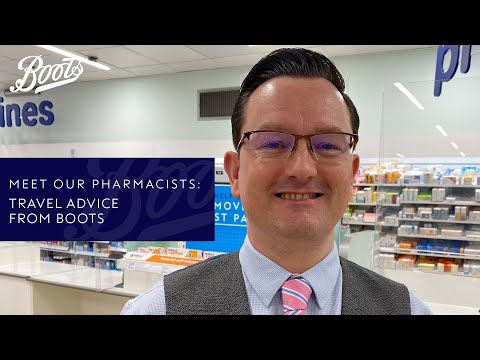 boots.com & Boots Voucher Code video: Meet our Pharmacists   Travel advice from Boots   Boots UK