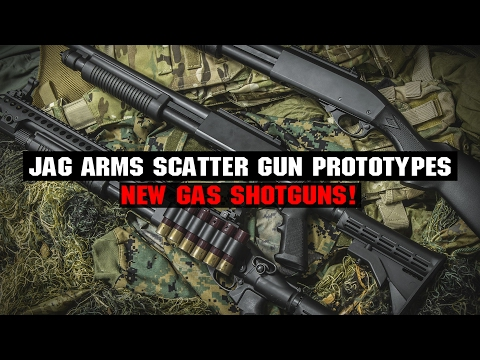 "Jag Arms Airsoft Gas Shotgun ""Scattergun"" Series! 
