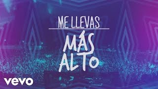 DJ PV - Me Llevas Más Alto (Lyric Video) ft. Alex Campos, Redimi2