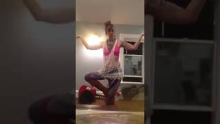 Dance Practice . Cheap Thrills by Sia.  Feb 2017.